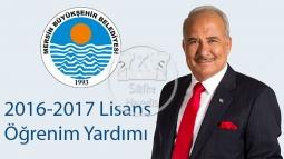 2016-2017 Lisans Öğrenim Yardımı Başvuruları Başladı