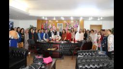 AK Parti Kadın Kollarından Başkan Aktan'a Hayırlı Olsun Ziyareti