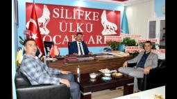Altunok ve Nogay'dan, Ülkü Ocakları Başkanı Ateş'e Ziyaret
