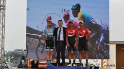 Başkan Yardımcısı Yılmaz, Bisikletçileri Ödüllendirdi