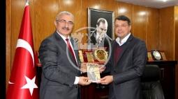 İl Kültür ve Turizm Müdürü Kabahasanoğlu Başkan Turgut'u Ziyaret Etti!