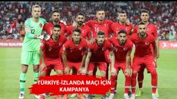 Kasım 2019'daki Türkiye-İzlanda Maçı İçin Kampanya Başlatıldı
