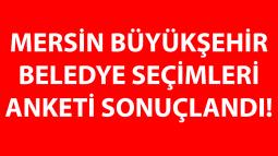 Mersin Büyükşehir Belediye Seçimleri Anketi Sonuçlandı!