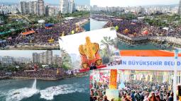 Mersin Narenciye Festivali'ne Tam Not