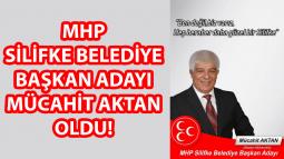 MHP Silifke Belediye Başkan Adayı Mücahit Aktan Oldu!