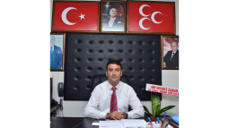 MHP İlçe Başkanı Nogay'dan Çok Önemli Açıklama