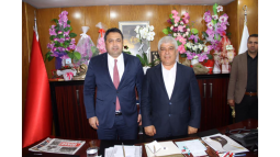MHP'li Gölgeli'den Başkan Aktan'a Hayırlı Olsun Ziyareti