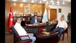 Milletvekili Özkan'dan Silifke Belediyesi'ne Ziyaret