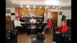 Milletvekili Yılmaz'dan Belediye'ye Ziyaret