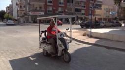 Silifkeli Sabri Dölek, Güneş Panelli Bisiklet İcat Etti