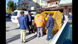 Silifke'ye Kent Estetiğine Uygun Çöp Konteyneri
