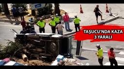 Taşucu'nda Kaza: 3 Yaralı