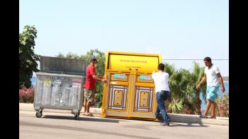 """Altunok, """"Çöp konteynerlerini modern hale getiriyoruz"""""""