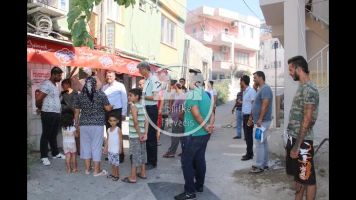 Başkan Turgut, Say Mahallesini Ziyaret Etti