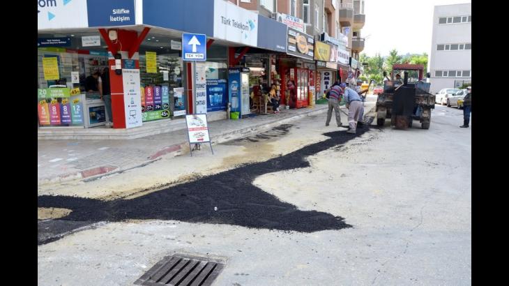 Belediyeden Bozulan Yollar İçin Hummalı Çalışma