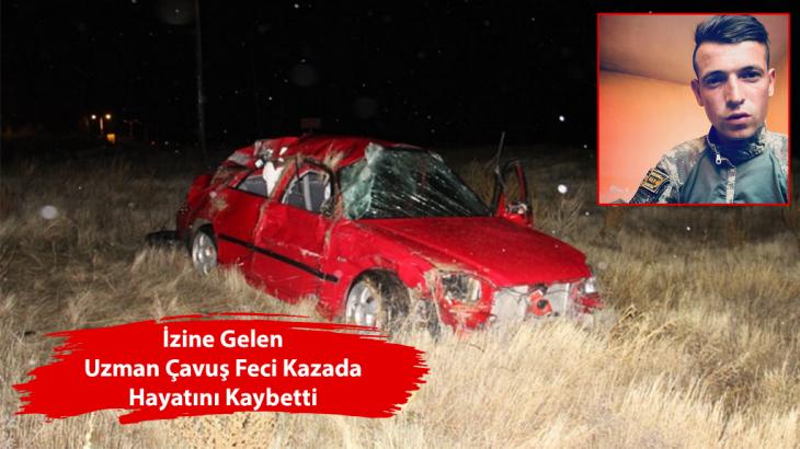 Erdemli'li Uzman Çavuş Trafik Kazasında Hayatını Kaybetti!