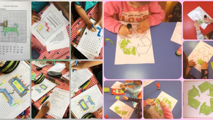 Kızılisalı İlkokulu'ndan Geri Dönüşüm Farkındalığı Projesi (2)