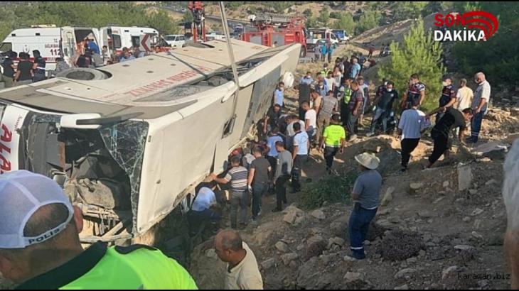 Mut'ta Askerleri Taşıyan Araç Devrildi: 5 Şehit!